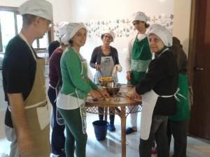 Culinária aula 2 em Goura - Paraty